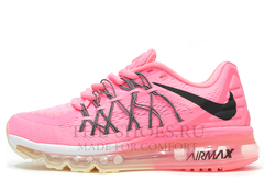 Кроссовки Женские Nike Air Max 2015 Pink White Black