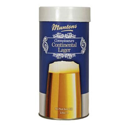 Купить солодовый экстракт Muntons Continental Lager (1,8 кг.