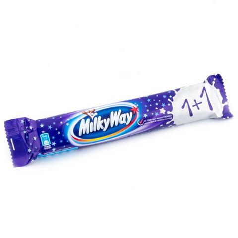 """Батончик """"Milky Way"""" 1+1, 52 г"""