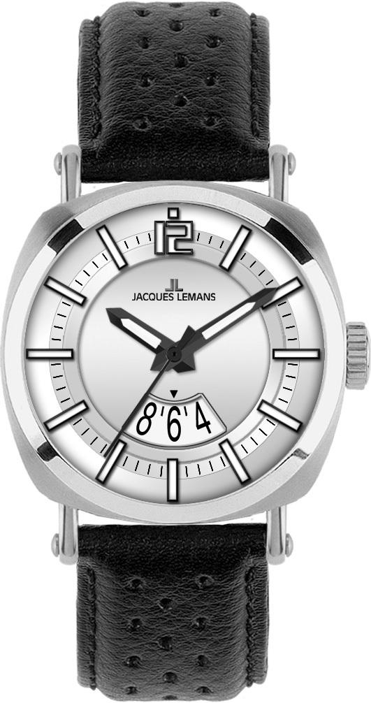 Jacques Lemans 1-1740B - мужские наручные часы из коллекции PanamaJacques Lemans<br><br><br>Бренд: Jacques Lemans<br>Модель: Jacques Lemans 1-1740B<br>Артикул: 1-1740B<br>Вариант артикула: None<br>Коллекция: Panama<br>Подколлекция: None<br>Страна: Австрия<br>Пол: мужские<br>Тип механизма: кварцевые<br>Механизм: None<br>Количество камней: None<br>Автоподзавод: None<br>Источник энергии: от батарейки<br>Срок службы элемента питания: None<br>Дисплей: стрелки<br>Цифры: арабские<br>Водозащита: WR 100<br>Противоударные: None<br>Материал корпуса: нерж. сталь<br>Материал браслета: кожа<br>Материал безеля: None<br>Стекло: минеральное<br>Антибликовое покрытие: None<br>Цвет корпуса: None<br>Цвет браслета: None<br>Цвет циферблата: None<br>Цвет безеля: None<br>Размеры: 42 мм<br>Диаметр: None<br>Диаметр корпуса: None<br>Толщина: None<br>Ширина ремешка: None<br>Вес: None<br>Спорт-функции: None<br>Подсветка: стрелок<br>Вставка: None<br>Отображение даты: число<br>Хронограф: None<br>Таймер: None<br>Термометр: None<br>Хронометр: None<br>GPS: None<br>Радиосинхронизация: None<br>Барометр: None<br>Скелетон: None<br>Дополнительная информация: None<br>Дополнительные функции: None