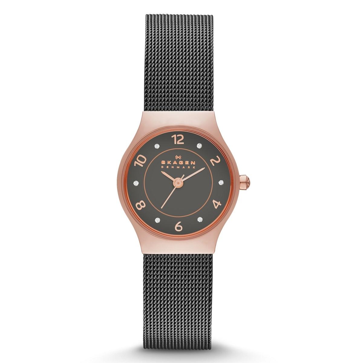 Skagen SKW2270 - женские наручные часы из коллекции MeshSkagen<br><br><br>Бренд: Skagen<br>Модель: Skagen SKW2270<br>Артикул: SKW2270<br>Вариант артикула: None<br>Коллекция: Mesh<br>Подколлекция: None<br>Страна: Дания<br>Пол: женские<br>Тип механизма: кварцевые<br>Механизм: None<br>Количество камней: None<br>Автоподзавод: None<br>Источник энергии: от батарейки<br>Срок службы элемента питания: None<br>Дисплей: стрелки<br>Цифры: арабские<br>Водозащита: WR 30<br>Противоударные: None<br>Материал корпуса: нерж. сталь, IP покрытие (полное)<br>Материал браслета: нерж. сталь<br>Материал безеля: None<br>Стекло: минеральное<br>Антибликовое покрытие: None<br>Цвет корпуса: None<br>Цвет браслета: None<br>Цвет циферблата: None<br>Цвет безеля: None<br>Размеры: 24 мм<br>Диаметр: None<br>Диаметр корпуса: None<br>Толщина: None<br>Ширина ремешка: None<br>Вес: None<br>Спорт-функции: None<br>Подсветка: None<br>Вставка: None<br>Отображение даты: None<br>Хронограф: None<br>Таймер: None<br>Термометр: None<br>Хронометр: None<br>GPS: None<br>Радиосинхронизация: None<br>Барометр: None<br>Скелетон: None<br>Дополнительная информация: None<br>Дополнительные функции: None