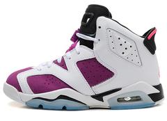 Кроссовки Женские Nike Air Jordan VI White Lilac