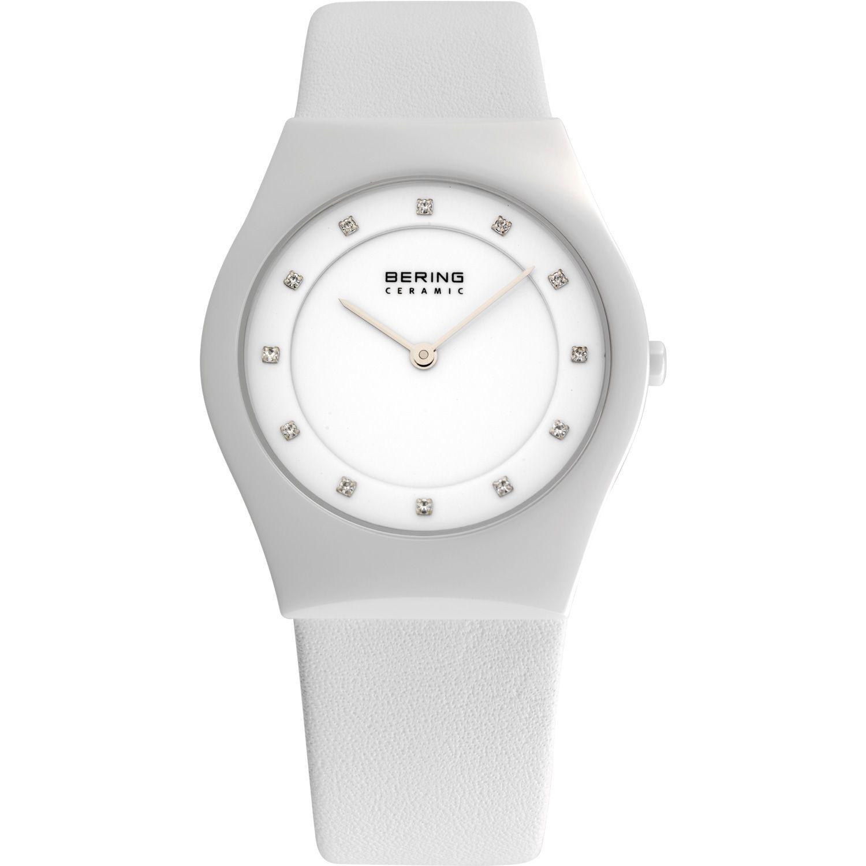 Bering 32035-659 - мужские наручные часы из коллекции CeramicBering<br>сапфировое стекло, корпус из керамики белого цвета,  ремешок из кожи теленка белого цвета, циферблат белого цвета с 12-ю кристаллами из стекла белого цвета, центральная секундная стрелка<br><br>Бренд: Bering<br>Модель: Bering 32035-659<br>Артикул: 32035-659<br>Вариант артикула: ber-32035-659<br>Коллекция: Ceramic<br>Подколлекция: None<br>Страна: Дания<br>Пол: мужские<br>Тип механизма: кварцевые<br>Механизм: None<br>Количество камней: None<br>Автоподзавод: None<br>Источник энергии: от батарейки<br>Срок службы элемента питания: None<br>Дисплей: стрелки<br>Цифры: отсутствуют<br>Водозащита: WR 30<br>Противоударные: None<br>Материал корпуса: керамика<br>Материал браслета: кожа (теленок)<br>Материал безеля: None<br>Стекло: сапфировое<br>Антибликовое покрытие: None<br>Цвет корпуса: белый<br>Цвет браслета: белый<br>Цвет циферблата: None<br>Цвет безеля: None<br>Размеры: 35 мм<br>Диаметр: 35 мм<br>Диаметр корпуса: None<br>Толщина: None<br>Ширина ремешка: None<br>Вес: None<br>Спорт-функции: None<br>Подсветка: None<br>Вставка: кристаллы Swarovski<br>Отображение даты: None<br>Хронограф: None<br>Таймер: None<br>Термометр: None<br>Хронометр: None<br>GPS: None<br>Радиосинхронизация: None<br>Барометр: None<br>Скелетон: None<br>Дополнительная информация: None<br>Дополнительные функции: None