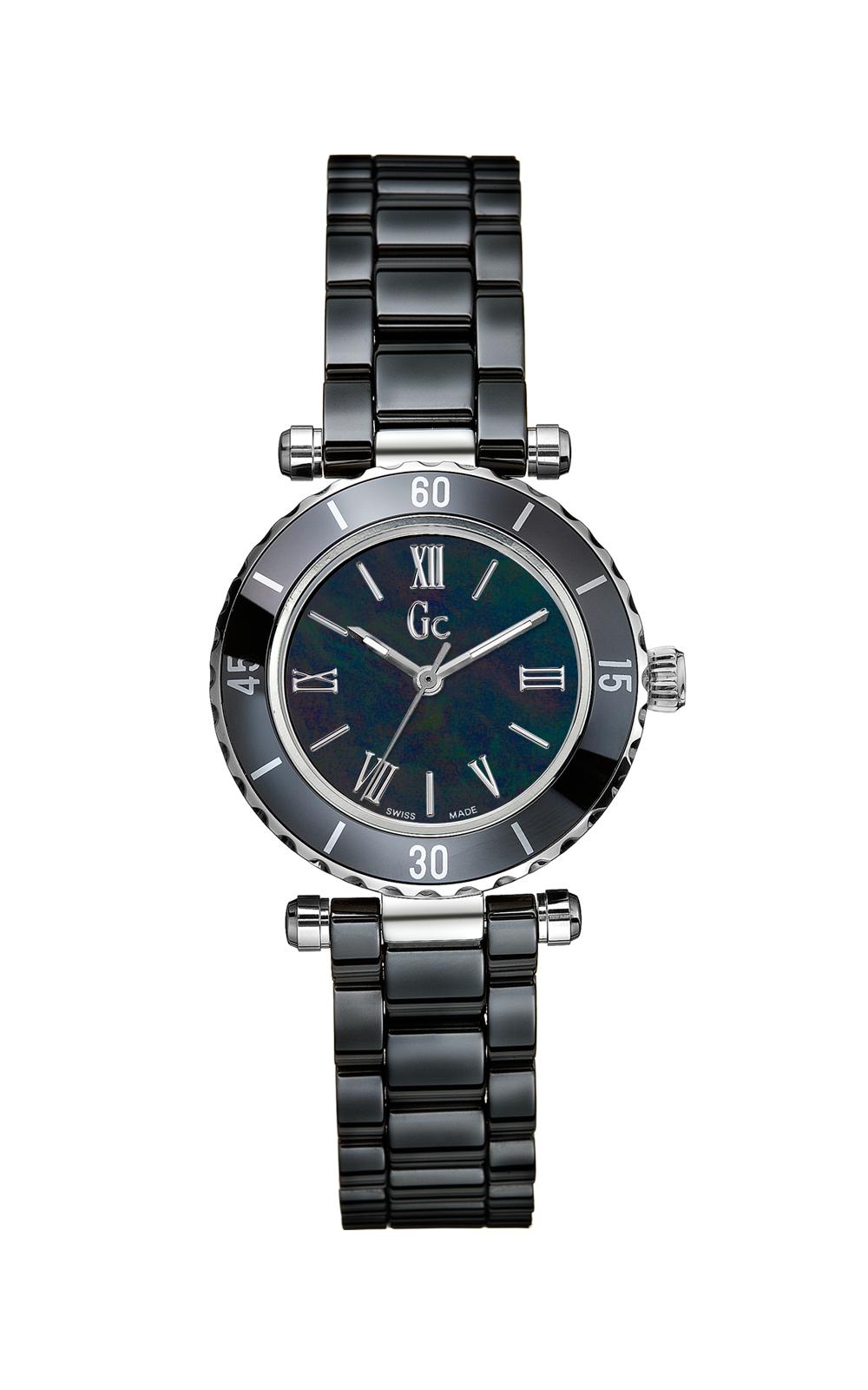 Gc X70012L2S - женские наручные часы из коллекции Sport ChicGc<br><br><br>Бренд: Gc<br>Модель: Gc X70012L2S<br>Артикул: X70012L2S<br>Вариант артикула: None<br>Коллекция: Sport Chic<br>Подколлекция: None<br>Страна: Швейцария<br>Пол: женские<br>Тип механизма: кварцевые<br>Механизм: None<br>Количество камней: None<br>Автоподзавод: None<br>Источник энергии: от батарейки<br>Срок службы элемента питания: None<br>Дисплей: стрелки<br>Цифры: римские<br>Водозащита: WR 100<br>Противоударные: None<br>Материал корпуса: нерж. сталь + керамика<br>Материал браслета: керамика<br>Материал безеля: None<br>Стекло: сапфировое<br>Антибликовое покрытие: None<br>Цвет корпуса: None<br>Цвет браслета: None<br>Цвет циферблата: None<br>Цвет безеля: None<br>Размеры: 28 мм<br>Диаметр: None<br>Диаметр корпуса: None<br>Толщина: None<br>Ширина ремешка: None<br>Вес: None<br>Спорт-функции: None<br>Подсветка: стрелок<br>Вставка: None<br>Отображение даты: None<br>Хронограф: None<br>Таймер: None<br>Термометр: None<br>Хронометр: None<br>GPS: None<br>Радиосинхронизация: None<br>Барометр: None<br>Скелетон: None<br>Дополнительная информация: None<br>Дополнительные функции: None