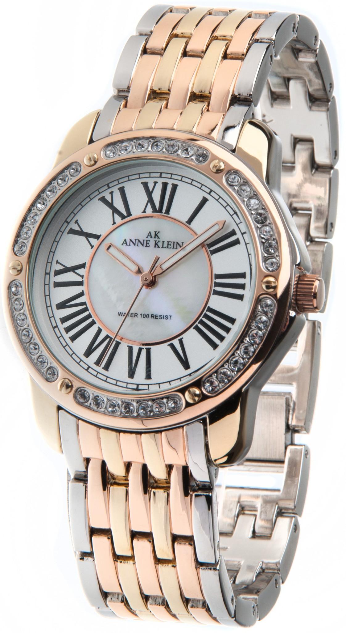 Anne Klein 9825MPTR - женские наручные часы из коллекции CrystalAnne Klein<br><br><br>Бренд: Anne Klein<br>Модель: Anne Klein 9825 MPTR<br>Артикул: 9825MPTR<br>Вариант артикула: None<br>Коллекция: Crystal<br>Подколлекция: None<br>Страна: США<br>Пол: женские<br>Тип механизма: кварцевые<br>Механизм: None<br>Количество камней: None<br>Автоподзавод: None<br>Источник энергии: от батарейки<br>Срок службы элемента питания: None<br>Дисплей: стрелки<br>Цифры: римские<br>Водозащита: WR 30<br>Противоударные: None<br>Материал корпуса: не указан, PVD покрытие: позолота (полное)<br>Материал браслета: не указан, PVD покрытие (частичное): позолота<br>Материал безеля: None<br>Стекло: минеральное<br>Антибликовое покрытие: None<br>Цвет корпуса: None<br>Цвет браслета: None<br>Цвет циферблата: None<br>Цвет безеля: None<br>Размеры: 38 мм<br>Диаметр: None<br>Диаметр корпуса: None<br>Толщина: None<br>Ширина ремешка: None<br>Вес: None<br>Спорт-функции: None<br>Подсветка: стрелок<br>Вставка: None<br>Отображение даты: None<br>Хронограф: None<br>Таймер: None<br>Термометр: None<br>Хронометр: None<br>GPS: None<br>Радиосинхронизация: None<br>Барометр: None<br>Скелетон: None<br>Дополнительная информация: None<br>Дополнительные функции: None