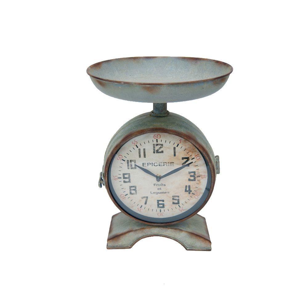 Часы «Весы бакалейные» (Настенные и настольные часы)Настенные и настольные часы<br>Часы Весы бакалейные<br>Материал: Металл<br>22х26х36 см<br>Производитель: Antic Line, Франция<br>