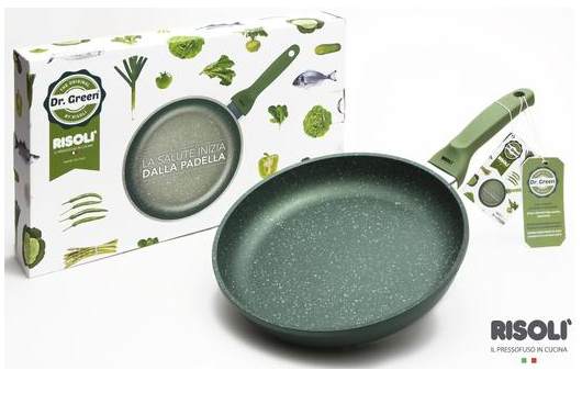 Литая сковорода Risoli Dr Green 20см 00103DR/20GSСковороды<br><br>