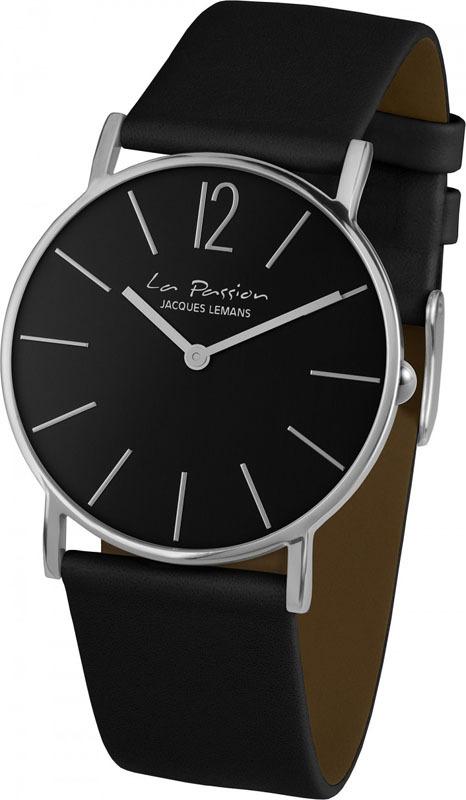 Jacques Lemans LP-122A - унисекс наручные часы из коллекции La PassionJacques Lemans<br><br><br>Бренд: Jacques Lemans<br>Модель: Jacques Lemans LP-122A<br>Артикул: LP-122A<br>Вариант артикула: None<br>Коллекция: La Passion<br>Подколлекция: None<br>Страна: Австрия<br>Пол: унисекс<br>Тип механизма: кварцевые<br>Механизм: None<br>Количество камней: None<br>Автоподзавод: None<br>Источник энергии: от батарейки<br>Срок службы элемента питания: None<br>Дисплей: стрелки<br>Цифры: арабские<br>Водозащита: WR 5<br>Противоударные: None<br>Материал корпуса: нерж. сталь<br>Материал браслета: кожа<br>Материал безеля: None<br>Стекло: Crystex<br>Антибликовое покрытие: None<br>Цвет корпуса: None<br>Цвет браслета: None<br>Цвет циферблата: None<br>Цвет безеля: None<br>Размеры: 40 мм<br>Диаметр: None<br>Диаметр корпуса: None<br>Толщина: None<br>Ширина ремешка: None<br>Вес: None<br>Спорт-функции: None<br>Подсветка: None<br>Вставка: None<br>Отображение даты: None<br>Хронограф: None<br>Таймер: None<br>Термометр: None<br>Хронометр: None<br>GPS: None<br>Радиосинхронизация: None<br>Барометр: None<br>Скелетон: None<br>Дополнительная информация: None<br>Дополнительные функции: None
