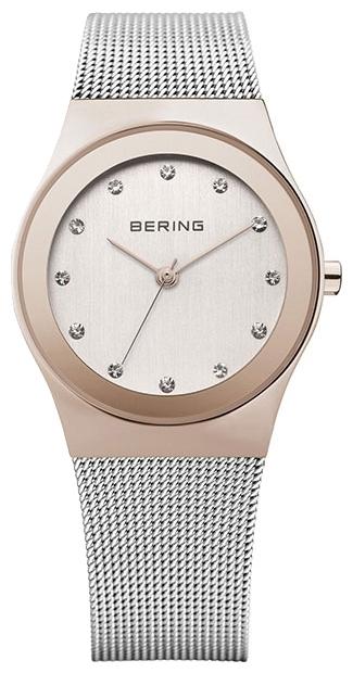 Bering 12927-064 - женские наручные часыBering<br>миланский браслет,  сапфировое стекло, корпус из нерж. стали с покрытием pvd цвета розового золота, браслет из нерж. стали, циферблат белого цвета с кристаллами swarovski<br><br>Бренд: Bering<br>Модель: Bering 12927-064<br>Артикул: 12927-064<br>Вариант артикула: ber-12927-064<br>Коллекция: None<br>Подколлекция: None<br>Страна: Дания<br>Пол: женские<br>Тип механизма: кварцевые<br>Механизм: None<br>Количество камней: None<br>Автоподзавод: None<br>Источник энергии: от батарейки<br>Срок службы элемента питания: None<br>Дисплей: стрелки<br>Цифры: отсутствуют<br>Водозащита: WR 30<br>Противоударные: None<br>Материал корпуса: нерж. сталь, IP покрытие (полное)<br>Материал браслета: нерж. сталь<br>Материал безеля: None<br>Стекло: сапфировое<br>Антибликовое покрытие: None<br>Цвет корпуса: None<br>Цвет браслета: None<br>Цвет циферблата: None<br>Цвет безеля: None<br>Размеры: 27 мм<br>Диаметр: None<br>Диаметр корпуса: None<br>Толщина: None<br>Ширина ремешка: None<br>Вес: None<br>Спорт-функции: None<br>Подсветка: None<br>Вставка: кристаллы Swarovski<br>Отображение даты: None<br>Хронограф: None<br>Таймер: None<br>Термометр: None<br>Хронометр: None<br>GPS: None<br>Радиосинхронизация: None<br>Барометр: None<br>Скелетон: None<br>Дополнительная информация: None<br>Дополнительные функции: None
