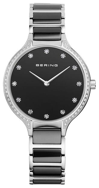 Bering 30434-742 - женские наручные часыBering<br>женские, сапфировое стекло, корпус из нерж. стали ,  браслет из нерж. стали со вставками из керамики черного цвета, циферблат черного цвета<br><br>Бренд: Bering<br>Модель: Bering 30434-742<br>Артикул: 30434-742<br>Вариант артикула: ber-30434-742<br>Коллекция: None<br>Подколлекция: None<br>Страна: Дания<br>Пол: женские<br>Тип механизма: кварцевые<br>Механизм: None<br>Количество камней: None<br>Автоподзавод: None<br>Источник энергии: от батарейки<br>Срок службы элемента питания: None<br>Дисплей: стрелки<br>Цифры: отсутствуют<br>Водозащита: WR 30<br>Противоударные: None<br>Материал корпуса: нерж. сталь<br>Материал браслета: нерж. сталь + керамика<br>Материал безеля: None<br>Стекло: сапфировое<br>Антибликовое покрытие: None<br>Цвет корпуса: None<br>Цвет браслета: None<br>Цвет циферблата: None<br>Цвет безеля: None<br>Размеры: 34 мм<br>Диаметр: None<br>Диаметр корпуса: None<br>Толщина: None<br>Ширина ремешка: None<br>Вес: None<br>Спорт-функции: None<br>Подсветка: None<br>Вставка: кристаллы Swarovski<br>Отображение даты: None<br>Хронограф: None<br>Таймер: None<br>Термометр: None<br>Хронометр: None<br>GPS: None<br>Радиосинхронизация: None<br>Барометр: None<br>Скелетон: None<br>Дополнительная информация: None<br>Дополнительные функции: None