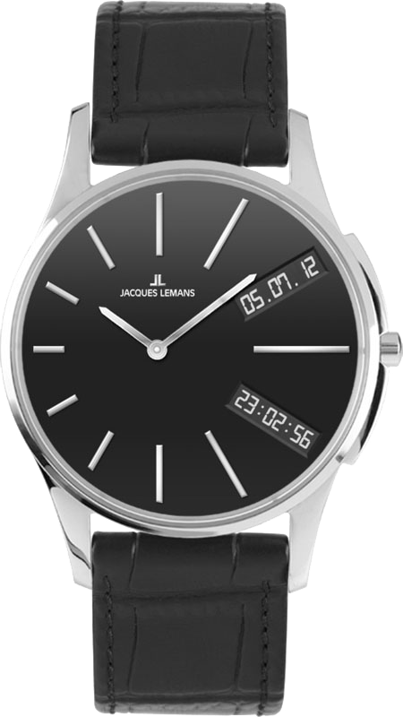 Jacques Lemans 1-1813A - мужские наручные часы из коллекции LondonJacques Lemans<br><br><br>Бренд: Jacques Lemans<br>Модель: Jacques Lemans 1-1813A<br>Артикул: 1-1813A<br>Вариант артикула: None<br>Коллекция: London<br>Подколлекция: None<br>Страна: Австрия<br>Пол: мужские<br>Тип механизма: кварцевые<br>Механизм: None<br>Количество камней: None<br>Автоподзавод: None<br>Источник энергии: None<br>Срок службы элемента питания: None<br>Дисплей: None<br>Цифры: None<br>Водозащита: WR 5<br>Противоударные: None<br>Материал корпуса: None<br>Материал браслета: None<br>Материал безеля: None<br>Стекло: Crystex<br>Антибликовое покрытие: None<br>Цвет корпуса: None<br>Цвет браслета: None<br>Цвет циферблата: None<br>Цвет безеля: None<br>Размеры: None<br>Диаметр: None<br>Диаметр корпуса: None<br>Толщина: None<br>Ширина ремешка: None<br>Вес: None<br>Спорт-функции: None<br>Подсветка: None<br>Вставка: None<br>Отображение даты: None<br>Хронограф: None<br>Таймер: None<br>Термометр: None<br>Хронометр: None<br>GPS: None<br>Радиосинхронизация: None<br>Барометр: None<br>Скелетон: None<br>Дополнительная информация: None<br>Дополнительные функции: None