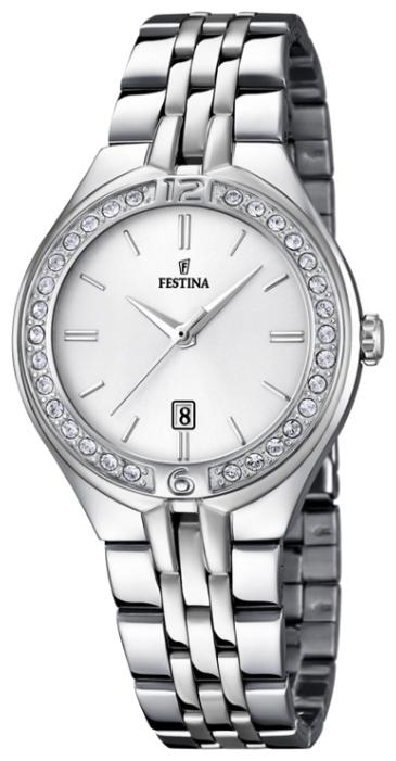 Festina F16867.1 - женские наручные часыFestina<br><br><br>Бренд: Festina<br>Модель: Festina F16867/1<br>Артикул: F16867.1<br>Вариант артикула: None<br>Коллекция: None<br>Подколлекция: None<br>Страна: Испания<br>Пол: женские<br>Тип механизма: кварцевые<br>Механизм: MGL10<br>Количество камней: None<br>Автоподзавод: None<br>Источник энергии: от батарейки<br>Срок службы элемента питания: None<br>Дисплей: стрелки<br>Цифры: арабские<br>Водозащита: WR 50<br>Противоударные: None<br>Материал корпуса: нерж. сталь<br>Материал браслета: нерж. сталь<br>Материал безеля: None<br>Стекло: минеральное<br>Антибликовое покрытие: None<br>Цвет корпуса: None<br>Цвет браслета: None<br>Цвет циферблата: None<br>Цвет безеля: None<br>Размеры: 33x10 мм<br>Диаметр: None<br>Диаметр корпуса: None<br>Толщина: None<br>Ширина ремешка: 16 см<br>Вес: None<br>Спорт-функции: None<br>Подсветка: None<br>Вставка: None<br>Отображение даты: число<br>Хронограф: None<br>Таймер: None<br>Термометр: None<br>Хронометр: None<br>GPS: None<br>Радиосинхронизация: None<br>Барометр: None<br>Скелетон: None<br>Дополнительная информация: None<br>Дополнительные функции: None