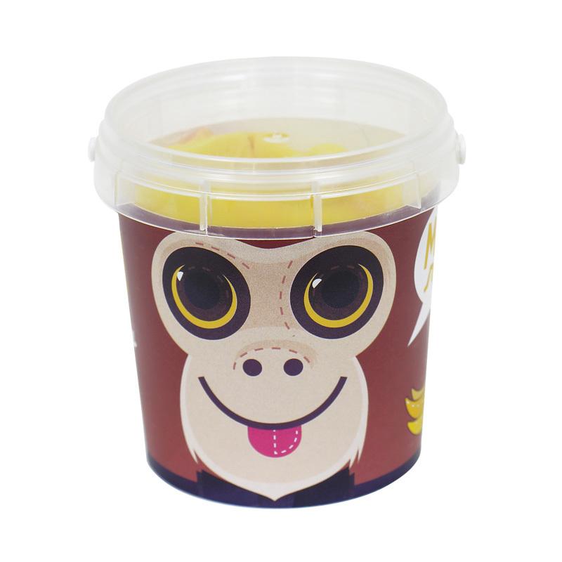 Набор конфет «МИ-МИ ЛАД» Зверята (Обезьяна)День рождения<br>Мармелад жевательный желейный (в форме фруктового салата), срок годности 1 год<br>