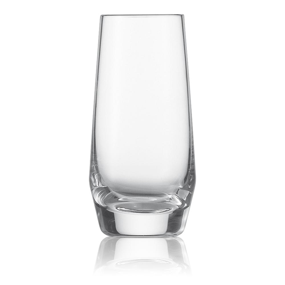 Набор из 6 стопок для водки 94 мл SCHOTT ZWIESEL Pure арт. 112 843-6Бокалы и стаканы<br>Набор из 6 стопок для водки 94 мл SCHOTT ZWIESEL Pure арт. 112 843-7<br><br>вид упаковки: подарочнаявысота (см): 9.5диаметр (см): 4.7материал: хрустальное стеклоназначение: для водкиобъем (мл): 94предметов в наборе (штук): 6страна: Германия<br>Коллекция Pure с оригинальным дизайном чаши, напоминающей королевский кубок — прекрасная идея для сервировки праздничного стола. Наборы рюмок, винных бокалов, стаканов для воды и виски, а также фужеров для шампанского, выполненные в едином стиле, придадут столу торжественность и величие.<br>Геометрия линий придает изделиям особую привлекательность и позволяет напиткам «дышать», постепенно раскрывая букет вкуса и аромата.<br>Интересная форма сужающихся к верху бокалов с четкими геометрическими линиями не только придает изделиям особую привлекательность, но и позволяет напиткам «дышать», постепенно раскрывая букет вкуса и аромата.<br>Серия Pure, изготовленная из хрустального стекла, привлекает внимание безупречной прозрачностью и уникальным блеском. Изделия этой серии не только восхищают великолепными формами, но и радуют своих хозяев прочностью и долговечностью.<br>
