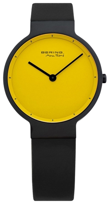 Bering 12631-827 - унисекс наручные часы из коллекции ClassicBering<br>женские, сапфировое стекло, корпус из титана с покрытием pvd черного цвета ,  в комплекте 2 ремешка из резины черного и желтого цвета, циферблат желтого цвета<br><br>Бренд: Bering<br>Модель: Bering 12631-827<br>Артикул: 12631-827<br>Вариант артикула: ber-12631-827<br>Коллекция: Classic<br>Подколлекция: None<br>Страна: Дания<br>Пол: унисекс<br>Тип механизма: кварцевые<br>Механизм: None<br>Количество камней: None<br>Автоподзавод: None<br>Источник энергии: от батарейки<br>Срок службы элемента питания: None<br>Дисплей: стрелки<br>Цифры: отсутствуют<br>Водозащита: WR 50<br>Противоударные: None<br>Материал корпуса: титан, PVD покрытие (полное)<br>Материал браслета: каучук<br>Материал безеля: None<br>Стекло: сапфировое<br>Антибликовое покрытие: None<br>Цвет корпуса: None<br>Цвет браслета: None<br>Цвет циферблата: None<br>Цвет безеля: None<br>Размеры: 31 мм<br>Диаметр: None<br>Диаметр корпуса: None<br>Толщина: None<br>Ширина ремешка: None<br>Вес: None<br>Спорт-функции: None<br>Подсветка: None<br>Вставка: None<br>Отображение даты: None<br>Хронограф: None<br>Таймер: None<br>Термометр: None<br>Хронометр: None<br>GPS: None<br>Радиосинхронизация: None<br>Барометр: None<br>Скелетон: None<br>Дополнительная информация: None<br>Дополнительные функции: None