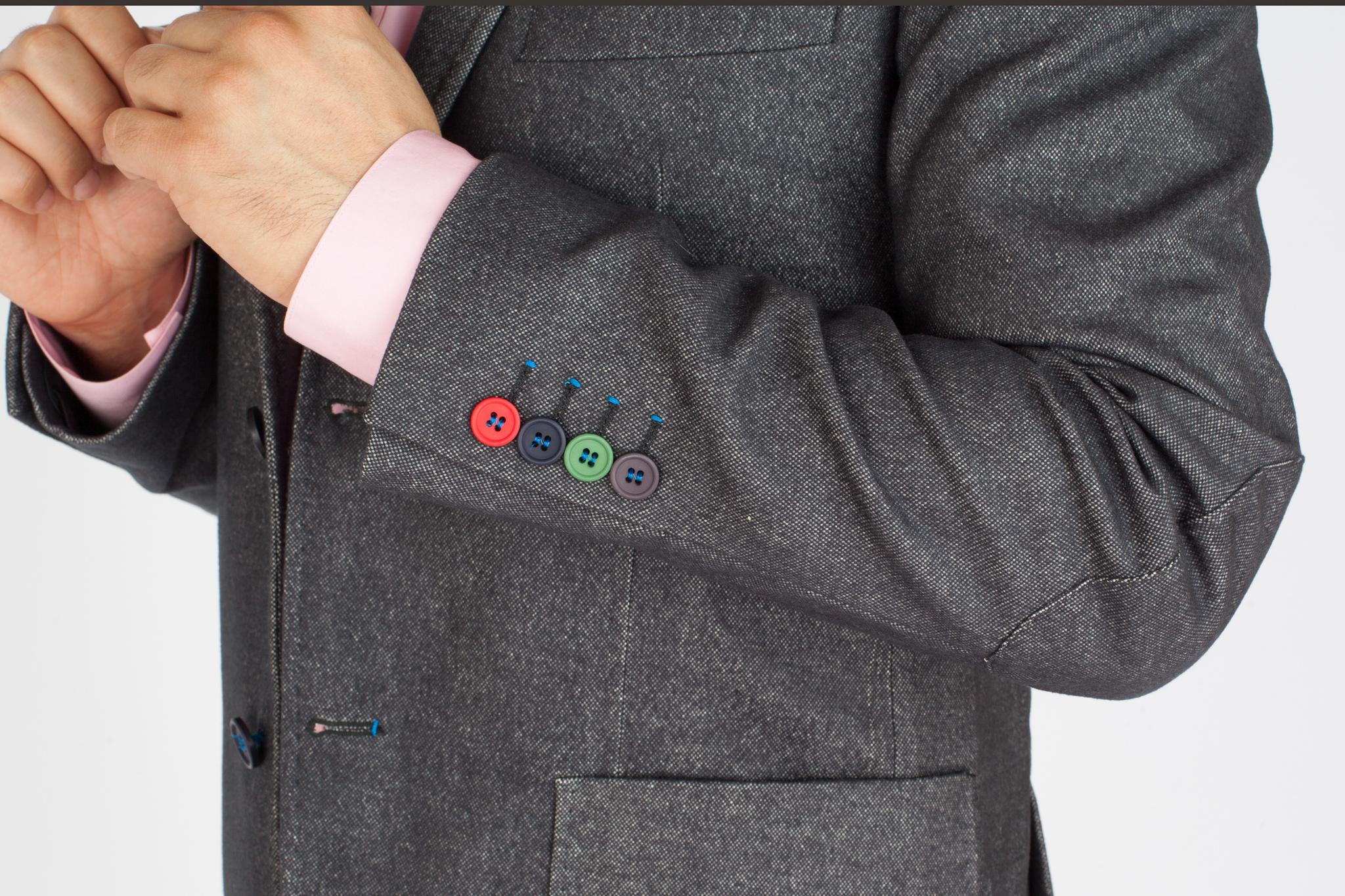Как сделать уже рукав пиджака 183