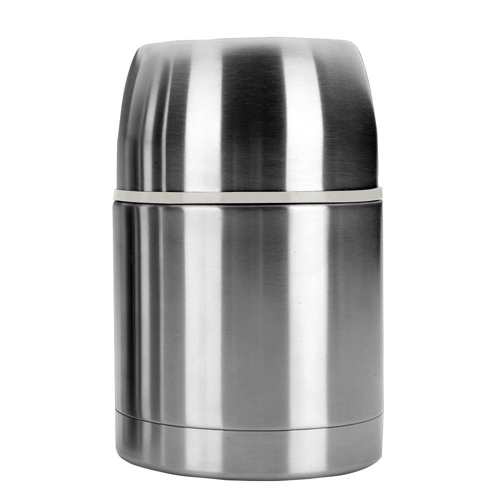 Термос для горячего 600 мл, нержавеющая сталь, IBILI Termos арт. 753906Термосы<br>материал колбы:нержавеющая стальматериал корпуса:нержавеющая стальнаружное покрытие:нержавеющая стальобъем (мл):600предметов в наборе (штук):1слив:отверстиестрана:Испанияудержание тепла (час):24цвет:стальной<br><br>Куда бы вы ни отправлялись: на работу, в путешествие или за город — изделия этой серии надолго сохранят температуру пищи и напитков, а также все их вкусовые свойства. Кружка-термос, выполненная из цветного сверхпрочного пластика, пригодится вам в офисе, поддерживая оптимальную температуру чая или кофе в течение нескольких часов, а плотно прилегающая крышка не даст напитку пролиться.<br>Компактные стальные термосы различного объема для горячих блюд и напитков позволят их владельцу в любое удобное время отменно пообедать домашней пищей. При этом крышка термоса отлично послужит тарелкой или стаканом, а блюда и напитки будут такими же свежими и горячими, будто их только что приготовили.<br>
