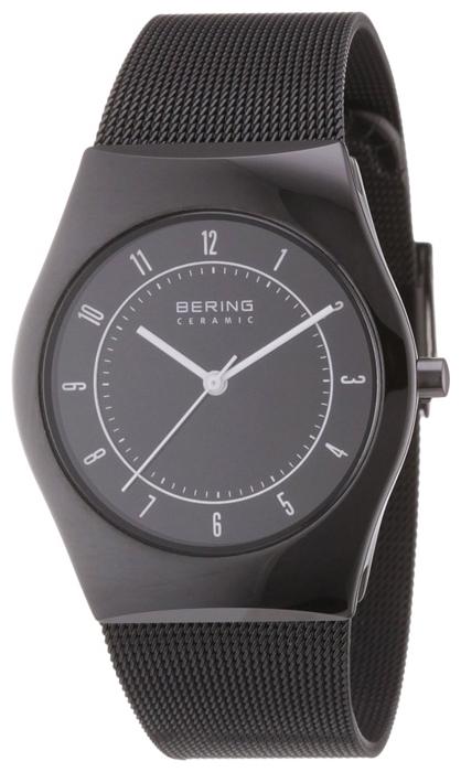 Bering 32035-242 - мужские наручные часы из коллекции CeramicBering<br>сапфировое стекло, корпус из керамики черного цвета,  браслет из нерж. стали с покрытием pvd черного цвета , циферблат черного цвета, центральная секундная стрелка<br><br>Бренд: Bering<br>Модель: Bering 32035-242<br>Артикул: 32035-242<br>Вариант артикула: ber-32035-242<br>Коллекция: Ceramic<br>Подколлекция: None<br>Страна: Дания<br>Пол: мужские<br>Тип механизма: кварцевые<br>Механизм: None<br>Количество камней: None<br>Автоподзавод: None<br>Источник энергии: от батарейки<br>Срок службы элемента питания: None<br>Дисплей: стрелки<br>Цифры: арабские<br>Водозащита: WR 50<br>Противоударные: None<br>Материал корпуса: керамика<br>Материал браслета: нерж. сталь, PVD покрытие (полное)<br>Материал безеля: None<br>Стекло: сапфировое<br>Антибликовое покрытие: None<br>Цвет корпуса: None<br>Цвет браслета: None<br>Цвет циферблата: None<br>Цвет безеля: None<br>Размеры: 35 мм<br>Диаметр: None<br>Диаметр корпуса: None<br>Толщина: None<br>Ширина ремешка: None<br>Вес: None<br>Спорт-функции: None<br>Подсветка: None<br>Вставка: None<br>Отображение даты: None<br>Хронограф: None<br>Таймер: None<br>Термометр: None<br>Хронометр: None<br>GPS: None<br>Радиосинхронизация: None<br>Барометр: None<br>Скелетон: None<br>Дополнительная информация: None<br>Дополнительные функции: None