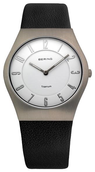 Bering 11935-404 - унисекс наручные часы из коллекции ClassicBering<br>сапфировое стекло, корпус из титана,  ремешок из кожи теленка черного цвета, циферблат белого цвета<br><br>Бренд: Bering<br>Модель: Bering 11935-404<br>Артикул: 11935-404<br>Вариант артикула: ber-11935-404<br>Коллекция: Classic<br>Подколлекция: None<br>Страна: Дания<br>Пол: унисекс<br>Тип механизма: кварцевые<br>Механизм: None<br>Количество камней: None<br>Автоподзавод: None<br>Источник энергии: от батарейки<br>Срок службы элемента питания: None<br>Дисплей: стрелки<br>Цифры: арабские<br>Водозащита: WR 50<br>Противоударные: None<br>Материал корпуса: титан<br>Материал браслета: кожа (теленок)<br>Материал безеля: None<br>Стекло: сапфировое<br>Антибликовое покрытие: None<br>Цвет корпуса: None<br>Цвет браслета: None<br>Цвет циферблата: None<br>Цвет безеля: None<br>Размеры: 35 мм<br>Диаметр: None<br>Диаметр корпуса: None<br>Толщина: None<br>Ширина ремешка: None<br>Вес: None<br>Спорт-функции: None<br>Подсветка: стрелок<br>Вставка: None<br>Отображение даты: None<br>Хронограф: None<br>Таймер: None<br>Термометр: None<br>Хронометр: None<br>GPS: None<br>Радиосинхронизация: None<br>Барометр: None<br>Скелетон: None<br>Дополнительная информация: None<br>Дополнительные функции: None