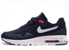 Кроссовки Мужские Nike Air Max 1 Dark Blue White