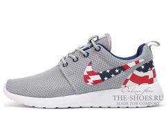 Кроссовки Мужские Nike Roshe Run Grey USA