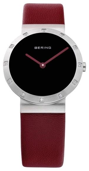 Bering 10629-604 - женские наручные часы из коллекции ClassicBering<br>женские, сапфировое стекло, корпус из нерж. стали, безель с 12-ю кристаллами из стекла белого цвета,  ремешок из кожи теленка коричневого цвета, циферблат черного цвета<br><br>Бренд: Bering<br>Модель: Bering 10629-604<br>Артикул: 10629-604<br>Вариант артикула: ber-10629-604<br>Коллекция: Classic<br>Подколлекция: None<br>Страна: Дания<br>Пол: женские<br>Тип механизма: кварцевые<br>Механизм: None<br>Количество камней: None<br>Автоподзавод: None<br>Источник энергии: от батарейки<br>Срок службы элемента питания: None<br>Дисплей: стрелки<br>Цифры: отсутствуют<br>Водозащита: WR 50<br>Противоударные: None<br>Материал корпуса: нерж. сталь<br>Материал браслета: кожа (теленок)<br>Материал безеля: None<br>Стекло: сапфировое<br>Антибликовое покрытие: None<br>Цвет корпуса: None<br>Цвет браслета: None<br>Цвет циферблата: None<br>Цвет безеля: None<br>Размеры: 29 мм<br>Диаметр: None<br>Диаметр корпуса: None<br>Толщина: None<br>Ширина ремешка: None<br>Вес: None<br>Спорт-функции: None<br>Подсветка: None<br>Вставка: кристаллы Swarovski<br>Отображение даты: None<br>Хронограф: None<br>Таймер: None<br>Термометр: None<br>Хронометр: None<br>GPS: None<br>Радиосинхронизация: None<br>Барометр: None<br>Скелетон: None<br>Дополнительная информация: None<br>Дополнительные функции: None