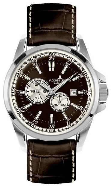 Jacques Lemans 1-1774C - мужские наручные часы из коллекции SportJacques Lemans<br><br><br>Бренд: Jacques Lemans<br>Модель: Jacques Lemans 1-1774C<br>Артикул: 1-1774C<br>Вариант артикула: None<br>Коллекция: Sport<br>Подколлекция: None<br>Страна: Австрия<br>Пол: мужские<br>Тип механизма: механические<br>Механизм: None<br>Количество камней: None<br>Автоподзавод: None<br>Источник энергии: пружинный механизм<br>Срок службы элемента питания: None<br>Дисплей: стрелки<br>Цифры: отсутствуют<br>Водозащита: WR 100<br>Противоударные: None<br>Материал корпуса: нерж. сталь<br>Материал браслета: кожа<br>Материал безеля: None<br>Стекло: минеральное<br>Антибликовое покрытие: None<br>Цвет корпуса: None<br>Цвет браслета: None<br>Цвет циферблата: None<br>Цвет безеля: None<br>Размеры: 44 мм<br>Диаметр: None<br>Диаметр корпуса: None<br>Толщина: None<br>Ширина ремешка: None<br>Вес: None<br>Спорт-функции: None<br>Подсветка: None<br>Вставка: None<br>Отображение даты: число<br>Хронограф: None<br>Таймер: None<br>Термометр: None<br>Хронометр: None<br>GPS: None<br>Радиосинхронизация: None<br>Барометр: None<br>Скелетон: None<br>Дополнительная информация: дополнительная шкала от 13 до 24 часов<br>Дополнительные функции: None