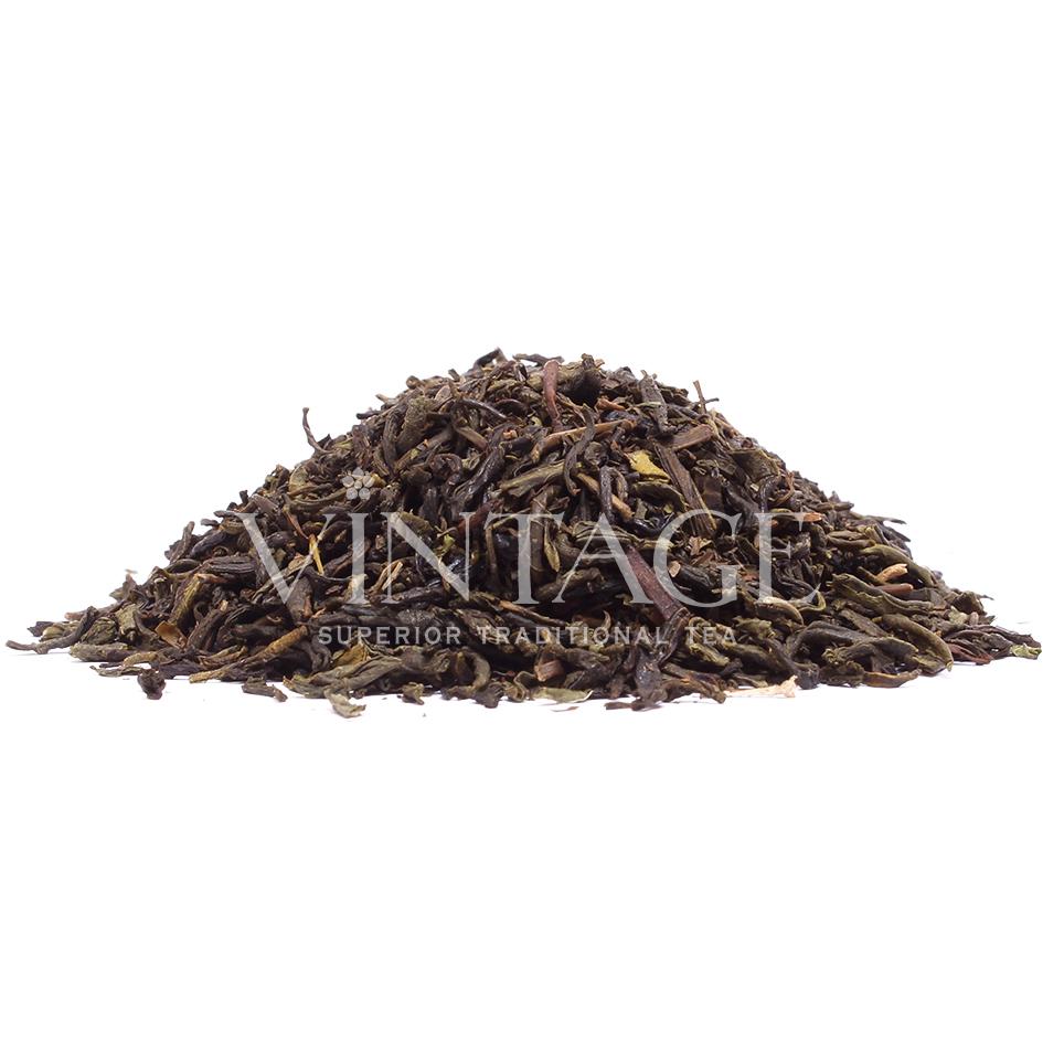 Зеленый с мятой (чай зеленый байховый ароматизированный)Весовой чай<br>Зеленый с мятой (чай зеленый байховый ароматизированный)<br><br><br><br><br><br><br><br><br><br>Время заваривания<br>Температура заваривания<br>Количество заварки<br><br><br><br>Рекомендуемое время заваривания 3-4мин.<br><br><br>Рекомендуемая температура заваривания 70-75 °С<br><br><br>Рекомендуемое количество заварки 3-4гр из расчета на 200-300мл.<br><br><br><br><br><br>Состав: чай зеленый Китай чун ми, мята.<br>Описание:чай для любителей простоты и естественности. Зеленый чай и мята отлично подходят друг другу, особенно летом - свежесть и травянистость дают почувствовать легкий ветерок даже во время полуденного зноя.<br>
