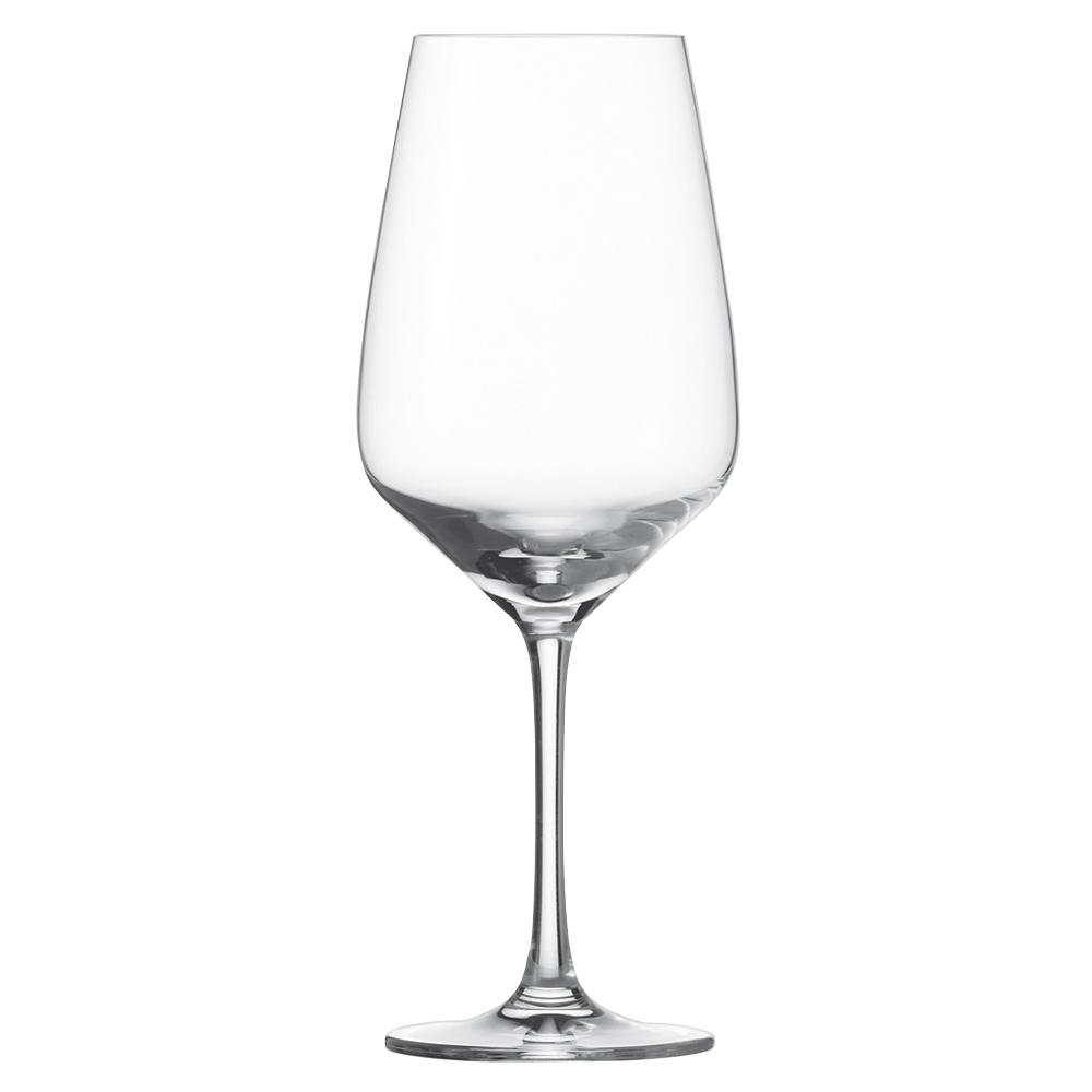 Набор из 6 бокалов для красного вина 497 мл SCHOTT ZWIESEL Taste арт. 115 671-6Бокалы и стаканы<br>Набор из 6 бокалов для красного вина 497 мл SCHOTT ZWIESEL Taste арт. 115 671-7<br><br>вид упаковки: подарочнаявысота (см): 22.5диаметр (см): 8.7материал: хрустальное стеклоназначение: для красного винаобъем (мл): 497предметов в наборе (штук): 6страна: Германия<br>Серия бокалов Taste отличается более четкими линиями, утонченностью дизайна и великолепным исполнением. Как и вся продукция всемирно известного бренда Schott Zwiesel, бокалы Taste обладают высокой прочностью хрустального стекла Tritan, идеальной прозрачностью, ярким блеском и особым сиянием.<br>В коллекции представлены элегантные бокалы для белого и красного вина и фужеры для шампанского.<br>Изделия предлагаются в наборах из шести предметов. Сужающиеся кверху края бокала прекрасно сохраняют вкус аромат благородных напитков, насыщая их кислородом и не давая вину выдохнуться. Классическая форма тюльпана и изысканная утонченная ножка идеально вписывается в любую сервировку, создавая за столом атмосферу праздника.<br>