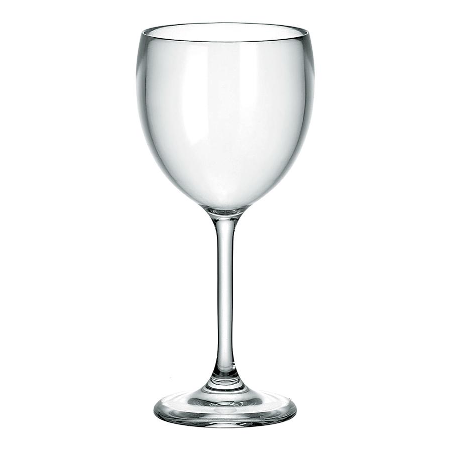 Бокал для вина Happy Hour 300 мл Guzzini 23490100Бокалы и стаканы<br>Бокал для вина Guzzini, изготовленный из высококачественного пластика. Классическая форма, в которой нет ничего лишнего. Бокал выглядит беспроигрышно на любом мероприятии, особенно если оно проходит на свежем воздухе. <br>Объем - 300 мл. Можно мыть в посудомоечной машине.<br>