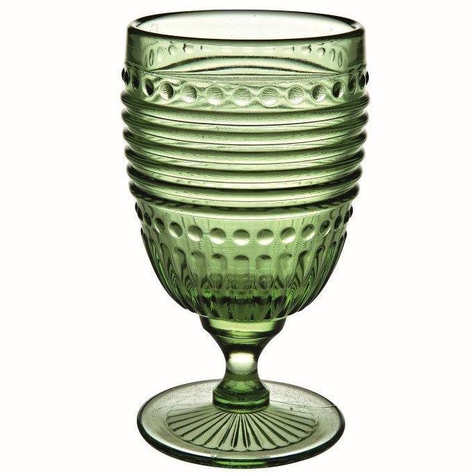 Campania Стекло Casa Alegre, Португалия<br>Campania Бокал для воды цвет Эмеральд (зеленый)<br>Высота 148 мм, емкость 305 мл<br>Материал - стекло<br>Бренд Casa Alegre<br>Производитель: Vista Alegre Atlantis, Португалия<br>