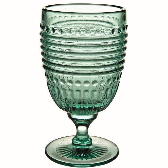 Campania Серия стекла Campania (Casa Alegre)<br>Campania Бокал для воды цвет Мята<br>Высота 148 мм, емкость 305 мл<br>Материал - стекло<br>Бренд Casa Alegre<br>Производитель: Vista Alegre Atlantis, Португалия<br>