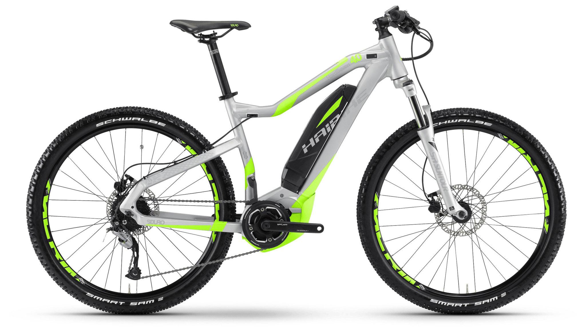 Haibike Xduro Hard Seven 4.0 400Wh (2017)Мужские<br>Если вы любите быстро ехать вниз, но не любите крутить педали в подъемы, то Xduro Hardseven - это отличный выход из ситуации. Этот байк предназначен для длительных прогулок по городским паркам и велодорожкам. Модель оснащена мощным электромотором, который поможет вам продолжить путешествие даже после того, как ваши силы будут на исходе. Рама  Gravity Casting aluminium 6061 изготовлена из сплава алюминия, что помогло снизить вес, но не прочность. Гидравлические тормоза помогут легко затормозить даже при спуске со склонов.<br>