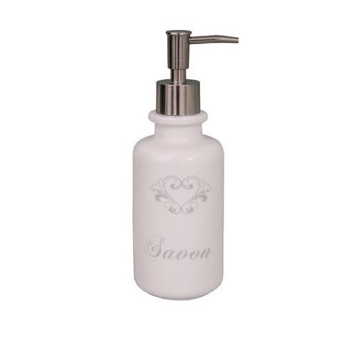 Дозатор для жидкого мыла (Фарфор и керамика Antic Line)Фарфор и керамика Antic Line<br>Дозатор для жидкого мыла <br>Высота 21 см <br>Фарфор <br>Antic Line, Франция<br>