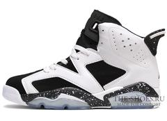 Кроссовки Мужские Nike Air Jordan VI White Black Speck