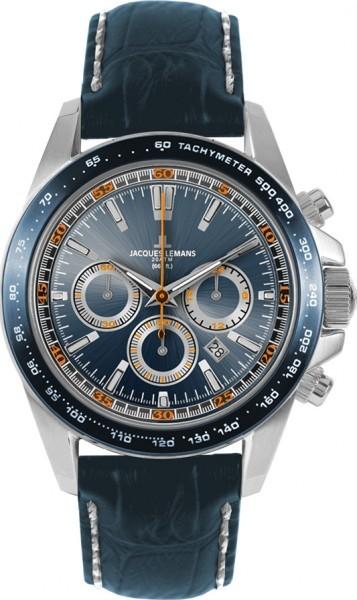 Jacques Lemans 1-1836B - мужские наручные часы из коллекции LiverpoolJacques Lemans<br><br><br>Бренд: Jacques Lemans<br>Модель: Jacques Lemans 1-1836B<br>Артикул: 1-1836B<br>Вариант артикула: None<br>Коллекция: Liverpool<br>Подколлекция: None<br>Страна: Австрия<br>Пол: мужские<br>Тип механизма: кварцевые<br>Механизм: None<br>Количество камней: None<br>Автоподзавод: None<br>Источник энергии: от батарейки<br>Срок службы элемента питания: None<br>Дисплей: стрелки<br>Цифры: отсутствуют<br>Водозащита: None<br>Противоударные: None<br>Материал корпуса: нерж. сталь<br>Материал браслета: кожа<br>Материал безеля: None<br>Стекло: минеральное<br>Антибликовое покрытие: None<br>Цвет корпуса: None<br>Цвет браслета: None<br>Цвет циферблата: None<br>Цвет безеля: None<br>Размеры: 41 мм<br>Диаметр: None<br>Диаметр корпуса: None<br>Толщина: None<br>Ширина ремешка: None<br>Вес: None<br>Спорт-функции: секундомер<br>Подсветка: стрелок<br>Вставка: None<br>Отображение даты: число<br>Хронограф: есть<br>Таймер: None<br>Термометр: None<br>Хронометр: None<br>GPS: None<br>Радиосинхронизация: None<br>Барометр: None<br>Скелетон: None<br>Дополнительная информация: None<br>Дополнительные функции: None