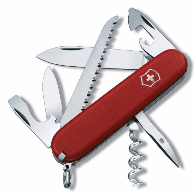 Нож перочинный Victorinox Ecoline 3.3613 91мм 13 функций матовый красный - 1