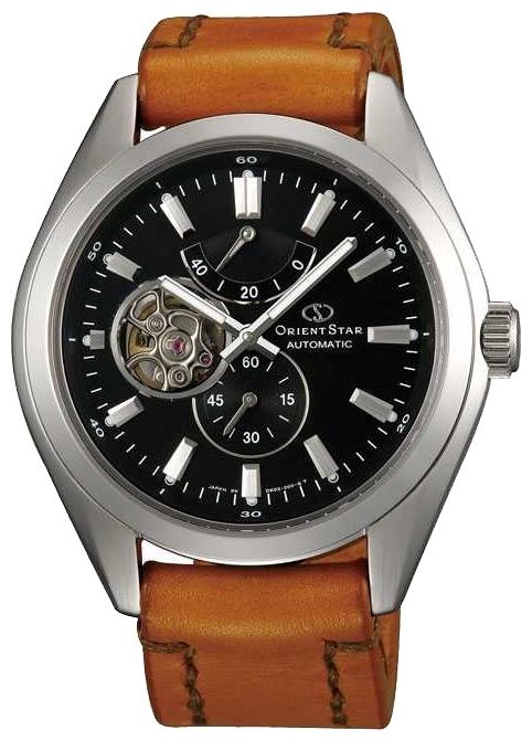 Orient DK02001B / SDK02001B0 - мужские наручные часыORIENT<br><br><br>Бренд: ORIENT<br>Модель: ORIENT DK02001B<br>Артикул: DK02001B<br>Вариант артикула: SDK02001B0<br>Коллекция: None<br>Подколлекция: None<br>Страна: Япония<br>Пол: мужские<br>Тип механизма: механические<br>Механизм: 40S62<br>Количество камней: None<br>Автоподзавод: есть<br>Источник энергии: пружинный механизм<br>Срок службы элемента питания: None<br>Дисплей: стрелки<br>Цифры: отсутствуют<br>Водозащита: WR 100<br>Противоударные: None<br>Материал корпуса: нерж. сталь<br>Материал браслета: кожа (не указан)<br>Материал безеля: None<br>Стекло: сапфировое<br>Антибликовое покрытие: есть<br>Цвет корпуса: None<br>Цвет браслета: None<br>Цвет циферблата: None<br>Цвет безеля: None<br>Размеры: 44x12 мм<br>Диаметр: None<br>Диаметр корпуса: None<br>Толщина: None<br>Ширина ремешка: None<br>Вес: None<br>Спорт-функции: None<br>Подсветка: стрелок<br>Вставка: None<br>Отображение даты: None<br>Хронограф: None<br>Таймер: None<br>Термометр: None<br>Хронометр: None<br>GPS: None<br>Радиосинхронизация: None<br>Барометр: None<br>Скелетон: None<br>Дополнительная информация: None<br>Дополнительные функции: индикатор запаса хода