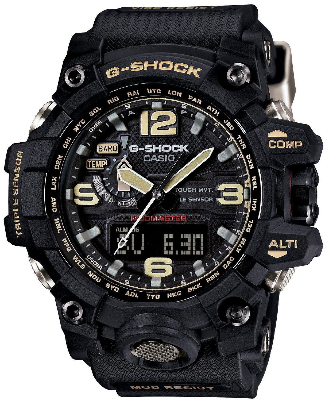 Casio G-SHOCK GWG-1000-1A / GWG-1000-1AER - мужские наручные часыCasio<br><br><br>Бренд: Casio<br>Модель: Casio GWG-1000-1A<br>Артикул: GWG-1000-1A<br>Вариант артикула: GWG-1000-1AER<br>Коллекция: G-SHOCK<br>Подколлекция: None<br>Страна: Япония<br>Пол: мужские<br>Тип механизма: кварцевые<br>Механизм: None<br>Количество камней: None<br>Автоподзавод: None<br>Источник энергии: от солнечной батареи<br>Срок службы элемента питания: None<br>Дисплей: None<br>Цифры: арабские<br>Водозащита: WR 200<br>Противоударные: есть<br>Материал корпуса: нерж. сталь + пластик<br>Материал браслета: пластик<br>Материал безеля: None<br>Стекло: сапфировое<br>Антибликовое покрытие: None<br>Цвет корпуса: None<br>Цвет браслета: None<br>Цвет циферблата: None<br>Цвет безеля: None<br>Размеры: None<br>Диаметр: None<br>Диаметр корпуса: None<br>Толщина: None<br>Ширина ремешка: None<br>Вес: 119 г<br>Спорт-функции: секундомер, таймер обратного отсчета, высотомер, барометр, термометр, компас<br>Подсветка: дисплея, стрелок<br>Вставка: None<br>Отображение даты: вечный календарь, число, день недели<br>Хронограф: None<br>Таймер: None<br>Термометр: None<br>Хронометр: None<br>GPS: None<br>Радиосинхронизация: есть<br>Барометр: None<br>Скелетон: None<br>Дополнительная информация: ежечасный сигнал, функция сохранения энергии, функция включения/отключения звука кнопок, функция Flash alert, функция перемещения стрелок, виброзащита, защита от грязи, время работы аккумулятора без подзарядки с использованием функции сохранения энергии 25 месяцев<br>Дополнительные функции: индикатор запаса хода, второй часовой пояс, будильник (количество установок: 5)