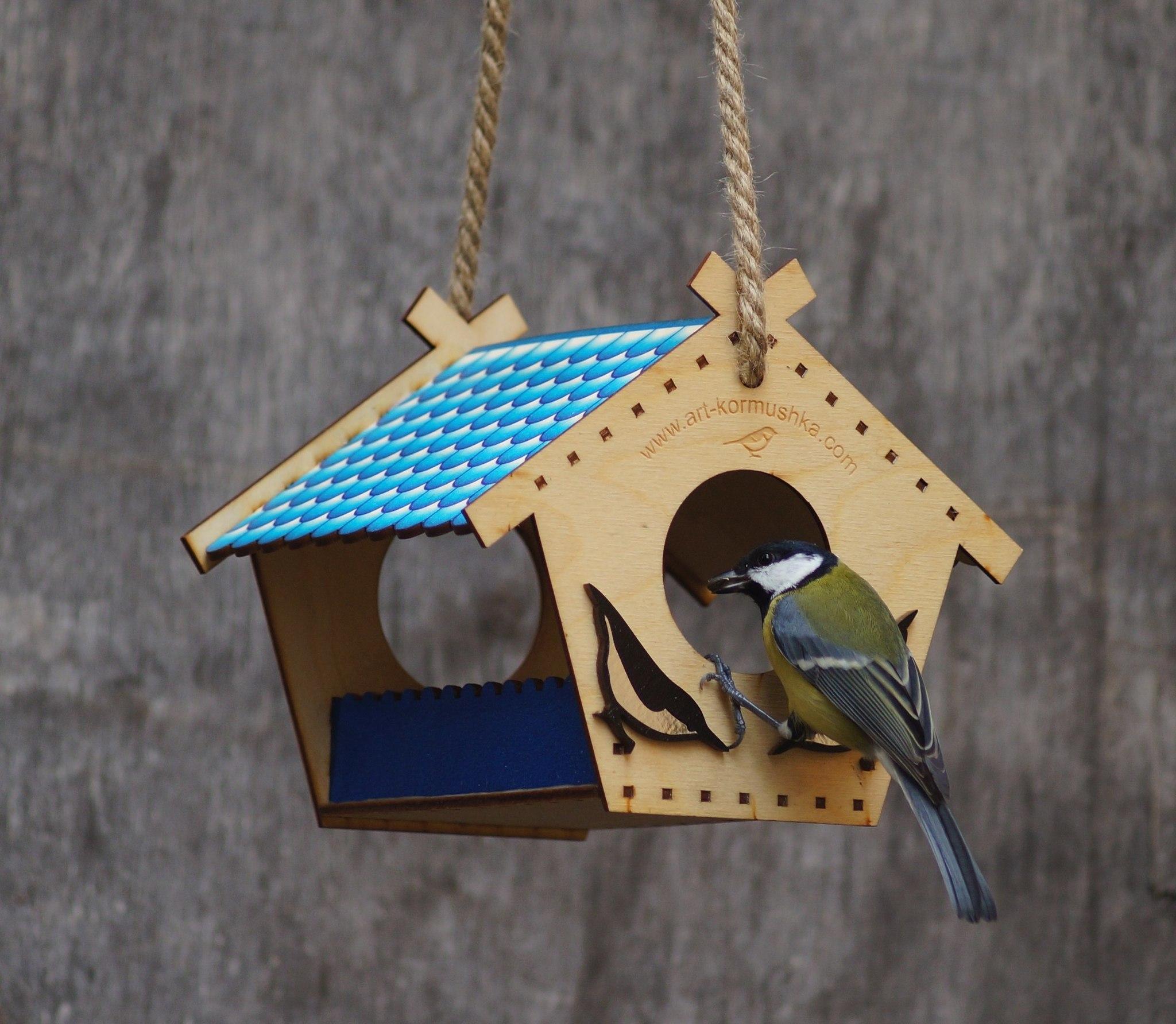 Сделай кормушку для птиц своими руками из 792