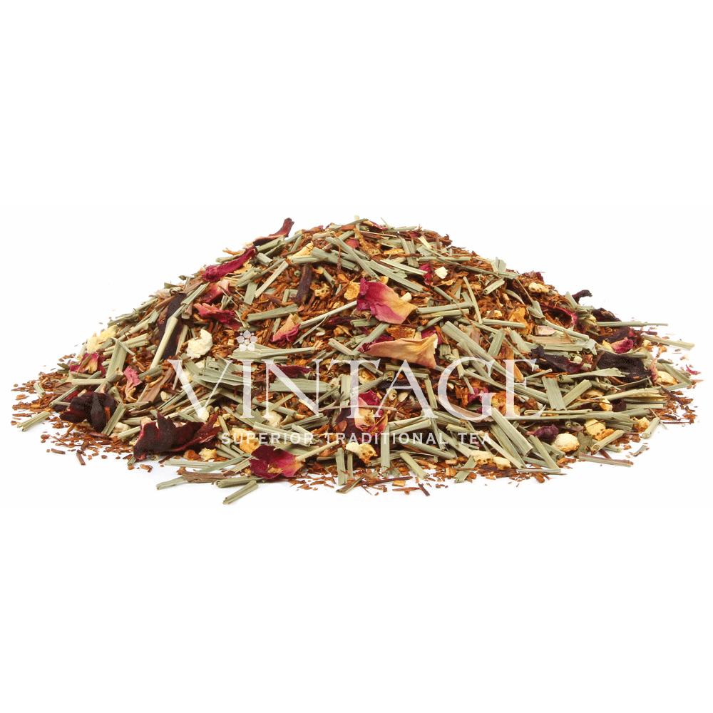 Ройбуш Сердце Боливии (чай фруктовый ароматизированный)Весовой чай<br>Ройбуш СердцеБоливии(чай фркутовыйароматизированный)<br><br><br><br><br><br><br><br><br><br>Время заваривания<br>Температура заваривания<br>Количество заварки<br><br><br><br>Рекомендуемое время заваривания 6-7мин.<br><br><br>Рекомендуемая температура заваривания 90-95 °С<br><br><br>Рекомендуемое количество заварки 4-5гр из расчета на 200-300мл.<br><br><br><br><br><br>Состав: ройбуш, лимонная трава, цедра апельсина, гибискус и лепестки красной розы.<br>Описание:ройбуш, лимонная трава, цедра апельсина, гибискус и лепестки красной розы. Ройбуш содержит много антиоксидантов – веществ, которые предотвращают старение организма и многие другие заболевания. Лимонная трава придает напитку легкий освежающий вкус.<br>