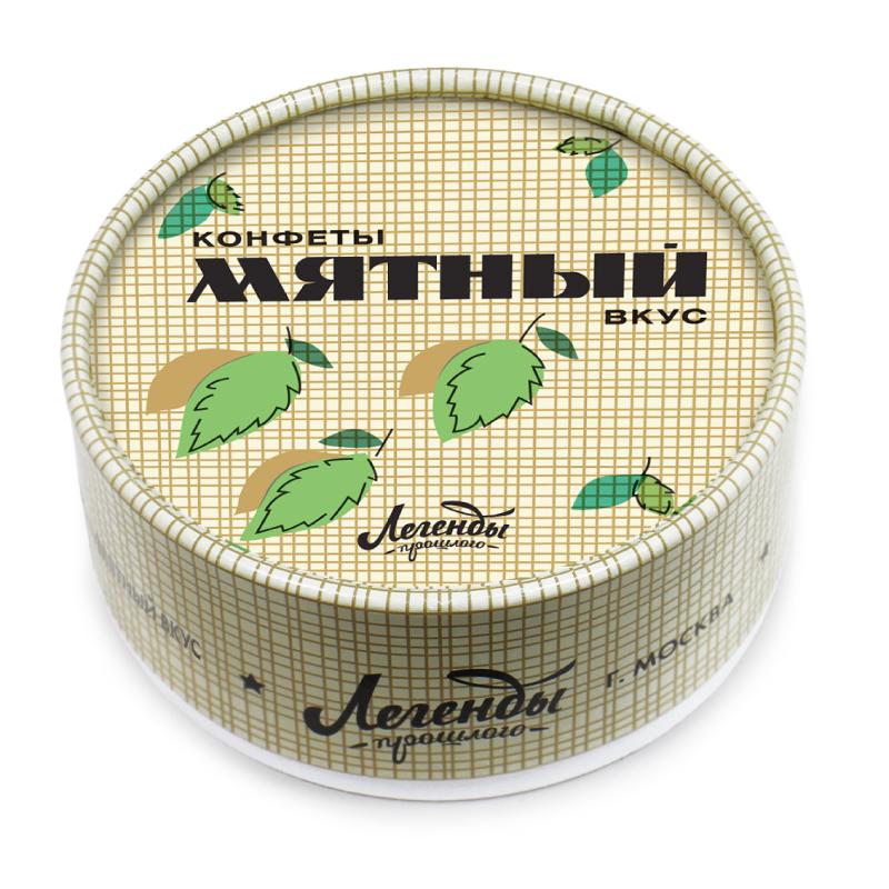 Конфеты «Мятный вкус»Парню<br>Новинка в линейке «Легенды прошлого» – конфеты «Мятный вкус». Упаковка может заставить прослезиться тех, кто очень скучает по прошедшим временам, она очень похожа на коробку мятного зубного порошка. Во времена СССР только так можно было почистить зубы. Оригинальная упаковка скрывает вкусные конфетки – мятные сахарные пастилки, тоже кстати, популярные в прошлом.<br>Несмотря на то, что линейка называется «Легенды прошлого», сладости, представленные тут очень даже популярны в настоящем. Дарите подарки близким с душой!<br>Вес: 75 гр.<br>Размеры: 8 см х 3,5 см<br>