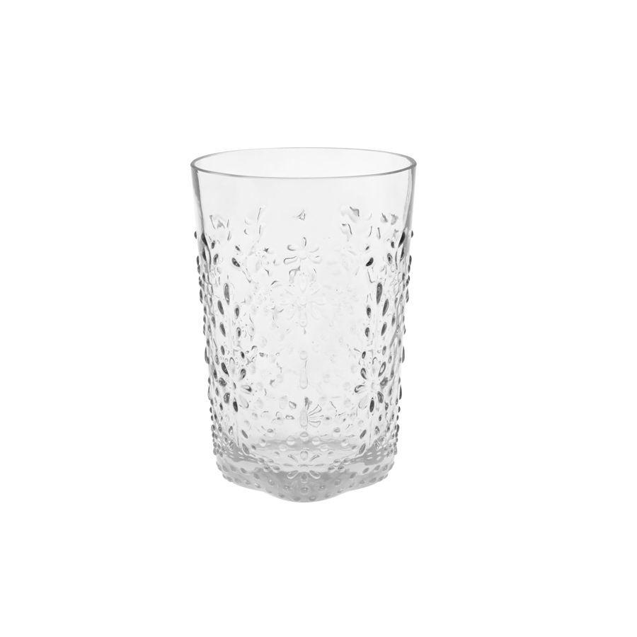 Floral Серия стекла Floral / Цветочный (Casa Alegre)<br>Floral Стакан для вина прозрачный<br>Высота 115 мм, емкость 320 мл<br>Материал - стекло<br>Бренд Casa Alegre<br>Производитель: Vista Alegre Atlantis, Португалия<br>
