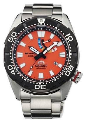 Orient EL0A003M / SEL0A003M0 - мужские наручные часыORIENT<br><br><br>Бренд: ORIENT<br>Модель: ORIENT EL0A003M<br>Артикул: EL0A003M<br>Вариант артикула: SEL0A003M0<br>Коллекция: None<br>Подколлекция: None<br>Страна: Япония<br>Пол: мужские<br>Тип механизма: механические<br>Механизм: 40N5A<br>Количество камней: None<br>Автоподзавод: есть<br>Источник энергии: пружинный механизм<br>Срок службы элемента питания: None<br>Дисплей: стрелки<br>Цифры: отсутствуют<br>Водозащита: WR 200<br>Противоударные: None<br>Материал корпуса: нерж. сталь, PVD покрытие (частичное)<br>Материал браслета: нерж. сталь<br>Материал безеля: None<br>Стекло: сапфировое<br>Антибликовое покрытие: None<br>Цвет корпуса: None<br>Цвет браслета: None<br>Цвет циферблата: None<br>Цвет безеля: None<br>Размеры: 45x13.6 мм<br>Диаметр: None<br>Диаметр корпуса: None<br>Толщина: None<br>Ширина ремешка: None<br>Вес: None<br>Спорт-функции: None<br>Подсветка: стрелок<br>Вставка: None<br>Отображение даты: число<br>Хронограф: None<br>Таймер: None<br>Термометр: None<br>Хронометр: None<br>GPS: None<br>Радиосинхронизация: None<br>Барометр: None<br>Скелетон: None<br>Дополнительная информация: None<br>Дополнительные функции: индикатор запаса хода