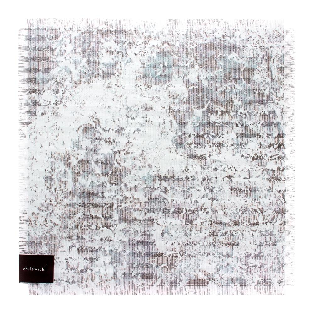 Салфетка подстановочная, винил, (38х39) Blue CHILEWICH Faded Floral арт. 100382-002Сервировка стола<br>длина (см):38материал:винилпредметов в наборе (штук):1страна:СШАширина (см):39.0<br>