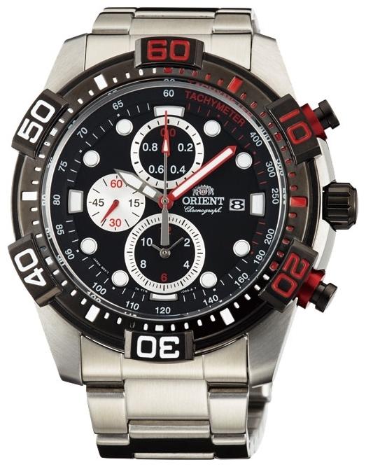 Orient TT16002B / FTT16002B0 - мужские наручные часыORIENT<br><br><br>Бренд: ORIENT<br>Модель: ORIENT TT16002B<br>Артикул: TT16002B<br>Вариант артикула: FTT16002B0<br>Коллекция: None<br>Подколлекция: None<br>Страна: Япония<br>Пол: мужские<br>Тип механизма: кварцевые<br>Механизм: KFB00<br>Количество камней: None<br>Автоподзавод: None<br>Источник энергии: от батарейки<br>Срок службы элемента питания: None<br>Дисплей: стрелки<br>Цифры: отсутствуют<br>Водозащита: WR 100<br>Противоударные: None<br>Материал корпуса: нерж. сталь, PVD покрытие (частичное)<br>Материал браслета: нерж. сталь<br>Материал безеля: None<br>Стекло: минеральное<br>Антибликовое покрытие: None<br>Цвет корпуса: None<br>Цвет браслета: None<br>Цвет циферблата: None<br>Цвет безеля: None<br>Размеры: 44.5 мм<br>Диаметр: None<br>Диаметр корпуса: None<br>Толщина: None<br>Ширина ремешка: None<br>Вес: None<br>Спорт-функции: секундомер<br>Подсветка: стрелок<br>Вставка: None<br>Отображение даты: число<br>Хронограф: есть<br>Таймер: None<br>Термометр: None<br>Хронометр: None<br>GPS: None<br>Радиосинхронизация: None<br>Барометр: None<br>Скелетон: None<br>Дополнительная информация: None<br>Дополнительные функции: None