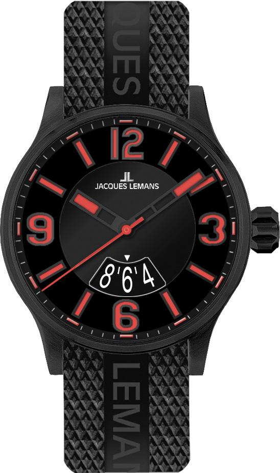 Jacques Lemans 1-1729F - мужские наручные часы из коллекции PortoJacques Lemans<br><br><br>Бренд: Jacques Lemans<br>Модель: Jacques Lemans 1-1729F<br>Артикул: 1-1729F<br>Вариант артикула: None<br>Коллекция: Porto<br>Подколлекция: None<br>Страна: Австрия<br>Пол: мужские<br>Тип механизма: кварцевые<br>Механизм: None<br>Количество камней: None<br>Автоподзавод: None<br>Источник энергии: от батарейки<br>Срок службы элемента питания: None<br>Дисплей: стрелки<br>Цифры: арабские<br>Водозащита: WR 10<br>Противоударные: None<br>Материал корпуса: нерж. сталь, IP покрытие (полное)<br>Материал браслета: каучук<br>Материал безеля: None<br>Стекло: Crystex<br>Антибликовое покрытие: None<br>Цвет корпуса: None<br>Цвет браслета: None<br>Цвет циферблата: None<br>Цвет безеля: None<br>Размеры: 42 мм<br>Диаметр: None<br>Диаметр корпуса: None<br>Толщина: None<br>Ширина ремешка: None<br>Вес: None<br>Спорт-функции: None<br>Подсветка: стрелок<br>Вставка: None<br>Отображение даты: число<br>Хронограф: None<br>Таймер: None<br>Термометр: None<br>Хронометр: None<br>GPS: None<br>Радиосинхронизация: None<br>Барометр: None<br>Скелетон: None<br>Дополнительная информация: None<br>Дополнительные функции: None