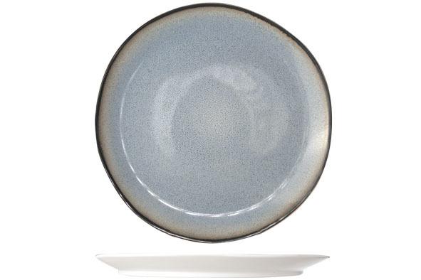Блюдце 15,5 см COSY&amp;TRENDY Fez blue 7876171Новинки<br>Блюдце 15,5 см COSY&amp;TRENDY Fez blue 7876171<br><br>Эта коллекция из каменной керамики поражает удивительным цветом, текстурой и формой. Насыщенный темно-синий оттенок с волнистым рельефом погружают в песчаную лагуну. Органические края для дополнительного дизайна. Коллекция FEZ Blue воссоздает исключительный внешний вид приготовленных блюд.<br>