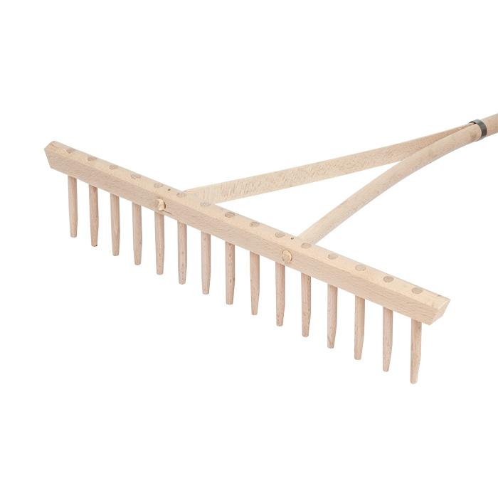 Как сделать грабли деревянные