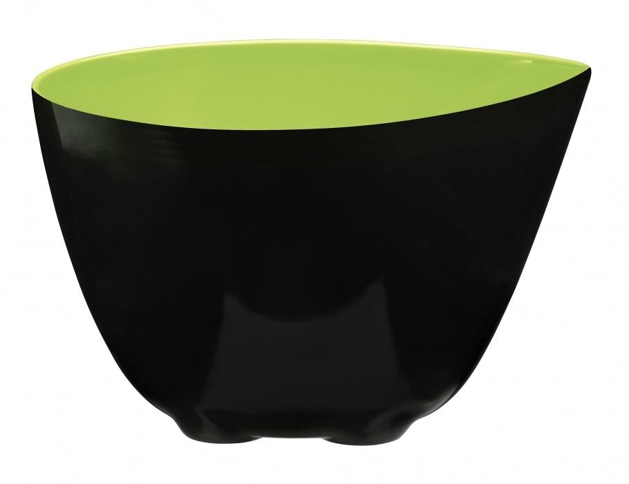 Миска 3л ZONE GOURMET CONFETTI 321030Распродажа<br>Объема этой миски хватит для всего, что бы вы ни задумали. Можно использовать эту легкую и прочную меланиновую тару как сервировочную «корзину» для свежих овощей и фруктов, в качестве салатницы или супницы, для сухих или жидких продуктов. Благодаря зауженному краю, миска идеально подходит для переливания жидкостей – никаких брызг и луж.<br>